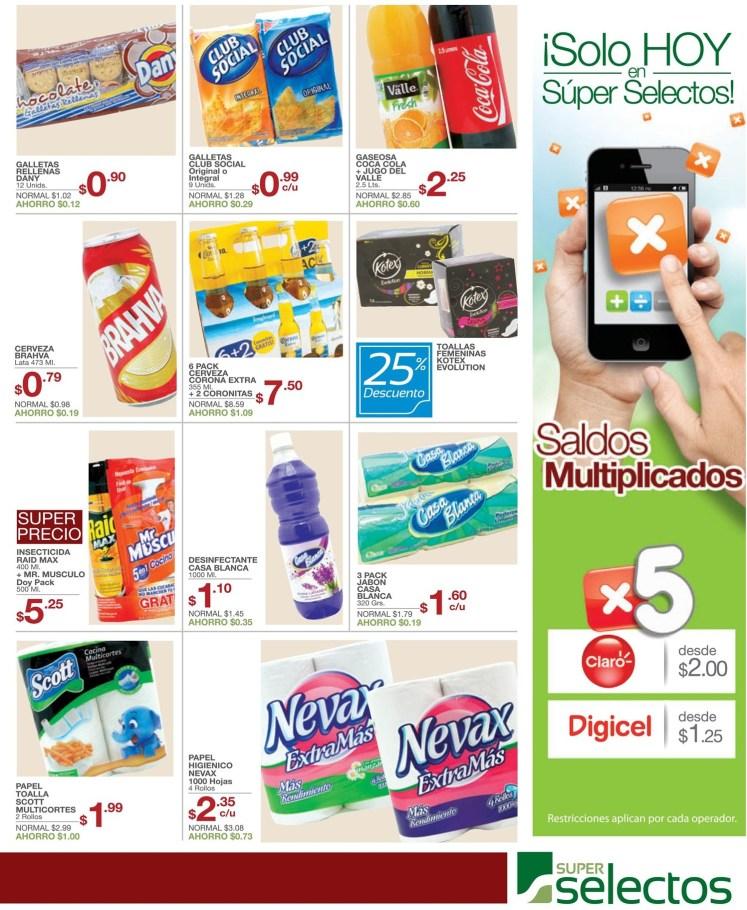 mas ofertas mejores precios Muho Ahorro SUPER SELECTOS - 08feb14