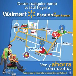 ven y ahorra con nosotros WALMART Escalon