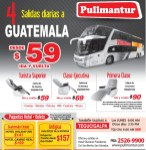 viajes a GUATEMALA ANTIGUA via PullMantur BUS