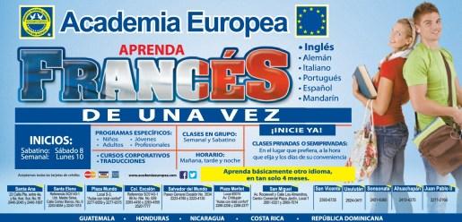 Aprender FRANCES academia de idiomas EUROPEA - 06mar14