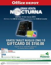 Banco Promerica te invita a la GRAN venta nocturna OFFIC DEPOT