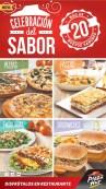 Celebracion del SABOR mas de 20 nuevas opciones PIZZA HUT