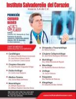 Chequeo basico MEDICO oferta instutto del corazon - 09mar14