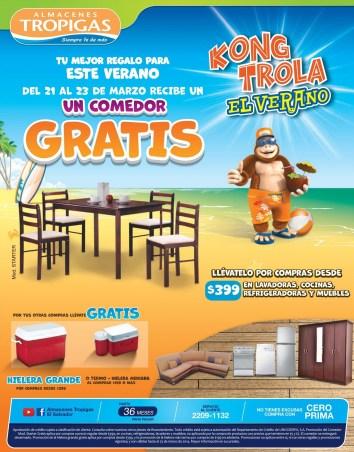 Comedor GRATIS gracias Almacenes Tropigas - 21mar14