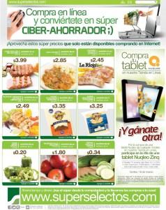 Compras en Linea con tu TABLET ofertas SuperSelectos.com - 07mar14