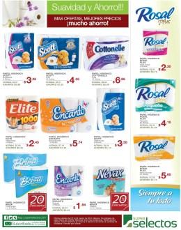 Descuentos Ofertas Promociones PAPEL HIGIENICO super selectos - 22mar14