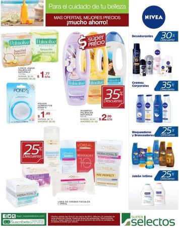 Descuentos en productos para la piel SUPER SELECTOS - 29mar14