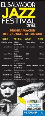 El Salvador JAZZ festival 2014