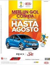 Excel Automotriz el salvador AUTO KIA RIO 2014