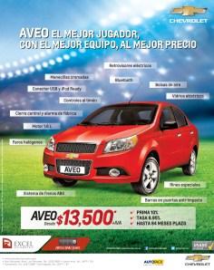 Excel automotriz COMPRAR auto Chevrolet AVEO 2014 - 13mar14