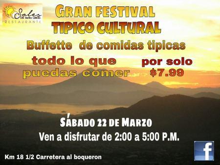 Festival tipico cultural soles de santa leticia 22 marzo