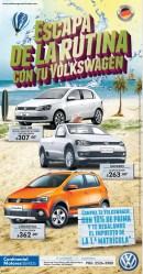 GOL HB crossfox VOLKSWAGEN sv promociones de verano - 24mar14