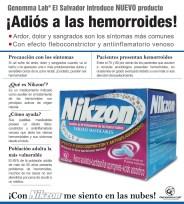 Genoma LAB El Salvador MEDICAMENTO para las HEMORROIDES Nikzon