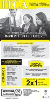 Invierte tu futuro ITCA el salvador - 31mar14