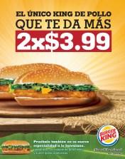 King de Pollo HAWAIANO Burger King SV