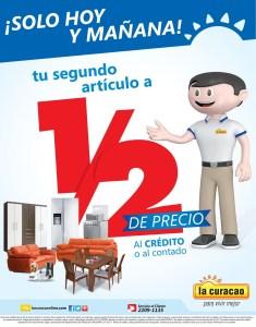LA CURACAO sv SOLO hoy y mañana mitad de precio - 22mar14