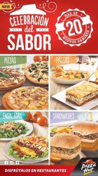 PIZZA PASTAS ENSALADAS SAnDwiches Pizza Hut el salvador - 28mar14