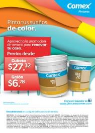 Pinta tu sueños de color COMEX ofertas - 07mar14