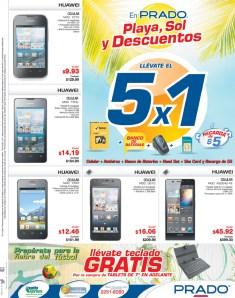 Preparate para el mundial smartphone HUAWEI ofertas PRADO el salvador - 16mar14