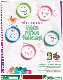 Pulseras Teleton buscalas SUPER SELECTOS soy teleton - 22mar14
