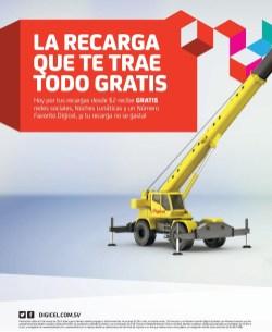 Recarga DIGICEL el salvador TODO GRATIS - 09mar14