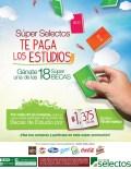 SUPER SELECTOS promocion BECAS de estudio 2014