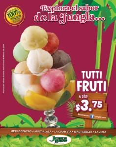 Sabor JUNGLE SNOW ice cream TUTTI FRUTI - 09mar14