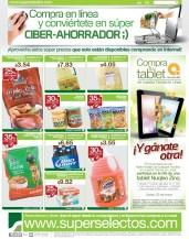 Super Selectos ofertas exclusivas Comprando via internet - 14mar14