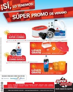 Super promo de verano SUPER REPUESTOS sv - 27mar14