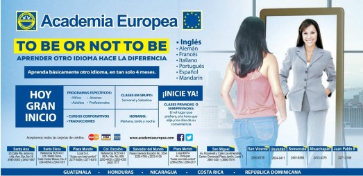 TO BE or NOT BE apreder idioma ingles - 24mar14