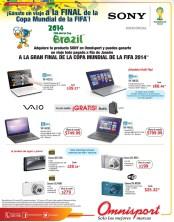 Tecnologia accesorios equipos SONY ofertas OMNISPORT el salvador - 21mar14