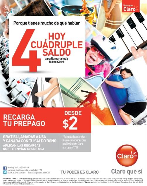Tu poder es CLARO promociones en recargas - 07mar14
