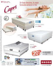 Un buen descanso en la mejor cama CAPRI ofertas SIMAN - 27mar14