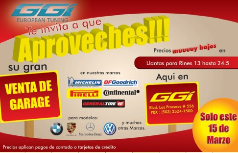 VENTA de GARAGE ggi european tuning - 12mar14