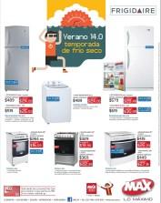 Verano 14 FRIGIDAIRE ofertas en refrigeradoras MAX el salvador - 15mar14