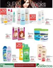 ofertas SUPER SELECTOS shampoo rinse gel acondicionadores - 08mar14