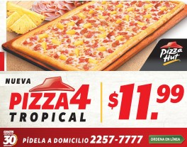 ordena en linea Pizza Hut el salvador PIZZA 4 tropical - 14mar14
