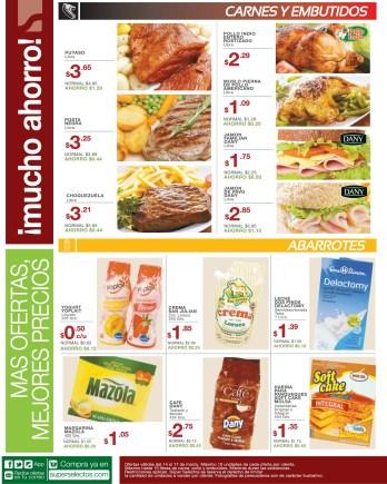 pollo carnes embutidos cerdo SUPER SELECTOS promociones - 14mar14