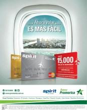 recuerda ahora volar es mas facil SPIRIT airlines banco promerica - 04mar14