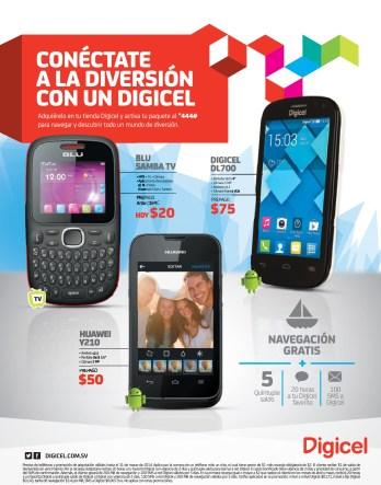 smartphone DIGICEL DL700 numeros favoritos mensajes navegacion - 22mar14