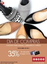 Dia de Compras DESCUENTO calzado para la familia - 30abr14