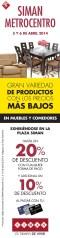 Gran variedad de productos a precios Bajos SIMAN metrocentro - 04abr14