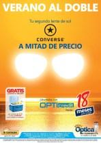 Verano al doble con lentes CONVERSE promotion - 11abr14