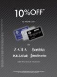 ZARA Bershka pull bear 10 OFF discount - 11abr14