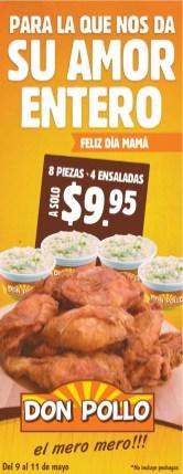 Amor entero piezas de pollo DON POLLO - 10may14
