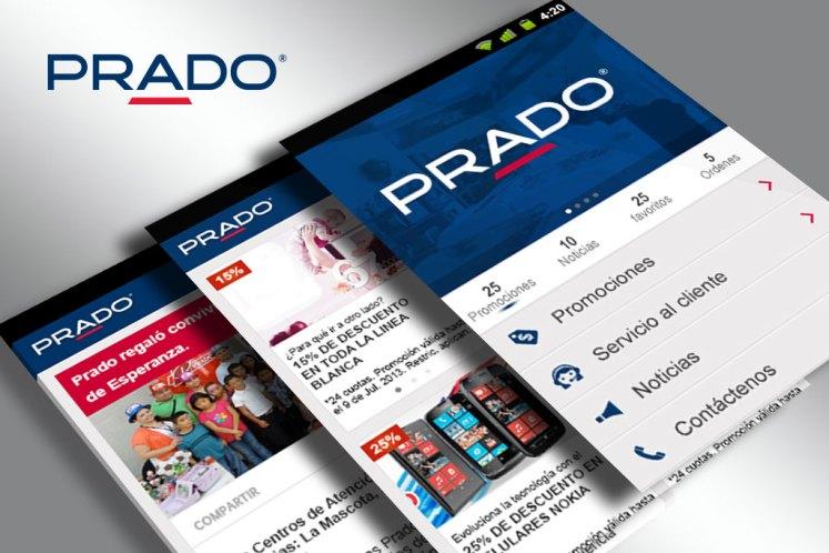App movil PRADO el salvador descargar