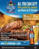 BBQ challenge EL SALVADOR 2014 trade company - 16may14