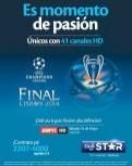 Final champions league HIGH DEFINITION espn HD by tigo star - 24may14