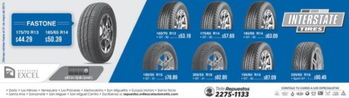 Interstate TIRES promotions - 23may14