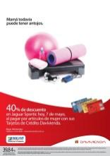 JAGUAR SPORTIC descuento tarjetas DAVIVIENDA - 07may14